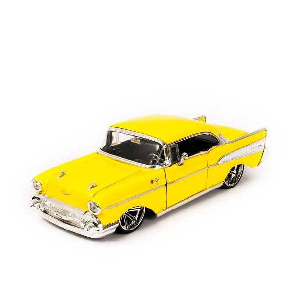 Miniatura Chevy Bel Air 1957 - Jada 1:24