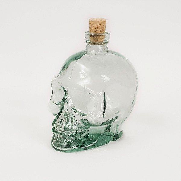Crânio de Caveira em Formato de Garrafa