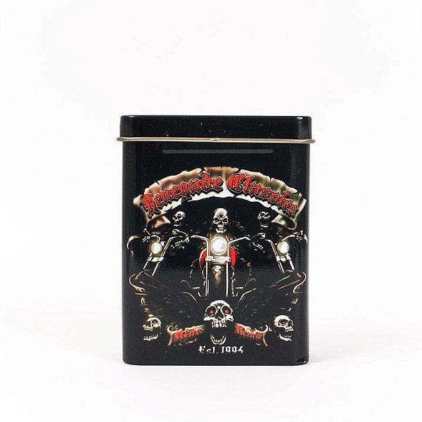 Porta-Cigarro Moto Caveira