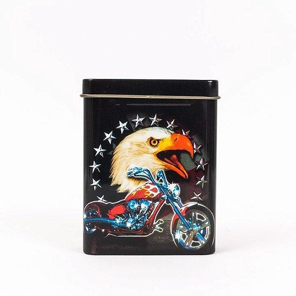 Porta-Cigarro Moto e Águia