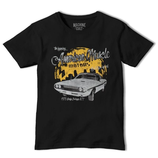 167768db722d1 Camiseta Carro Dodge Challenger RT - Muscle Car - Machine Cult ...