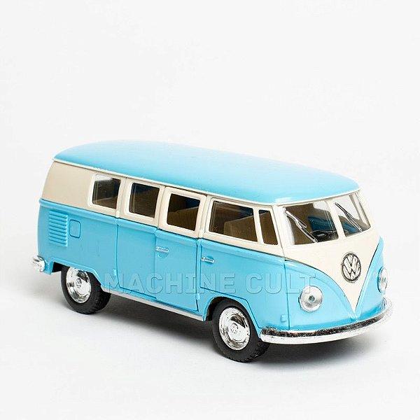 Miniatura Perua Kombi 1962 Azul - 1:32