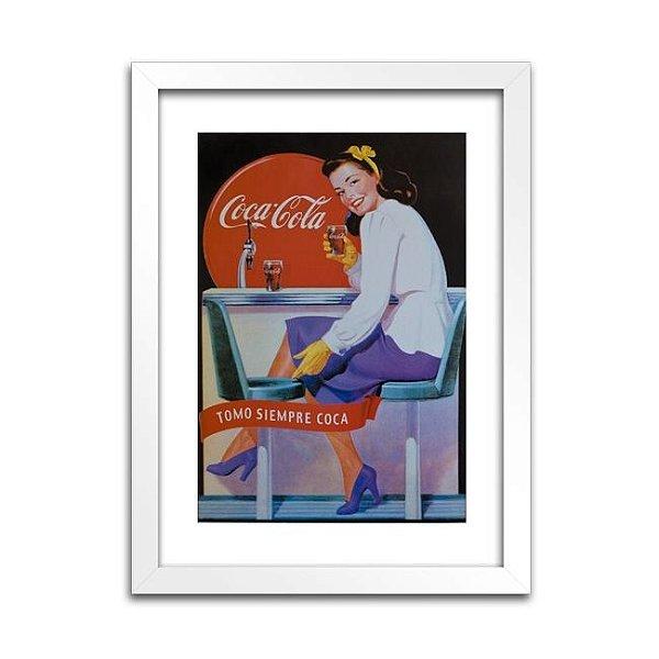 Quadro Coca-Cola - Anos 30