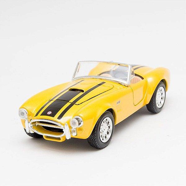 Miniatura 1965 Shelby Cobra 427 Amarelo - Maisto - 1:24