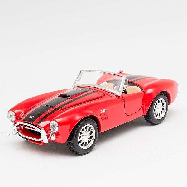 Miniatura 1965 Shelby Cobra 427 Vermelho - Maisto - 1:24