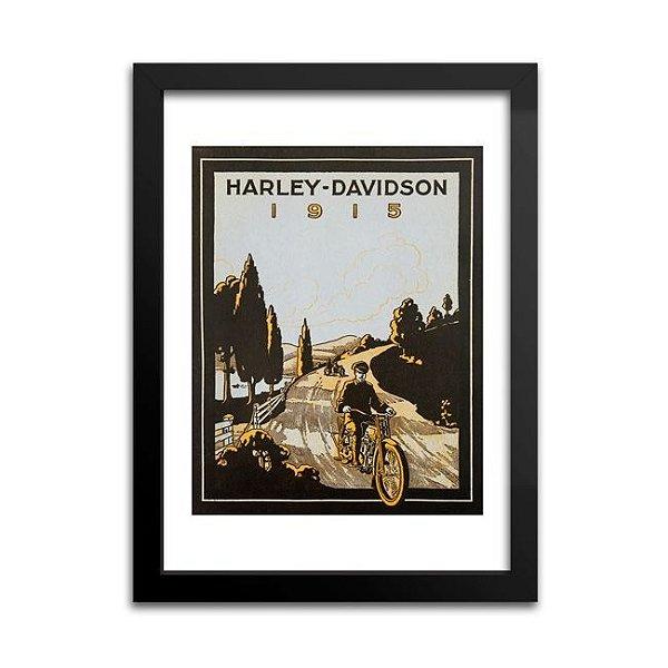 Quadro Harley-Davidson Antigo - 1915