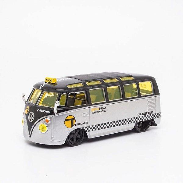 Miniatura Volkswagen Perua Kombi - Van Samba - Maisto - 1:25