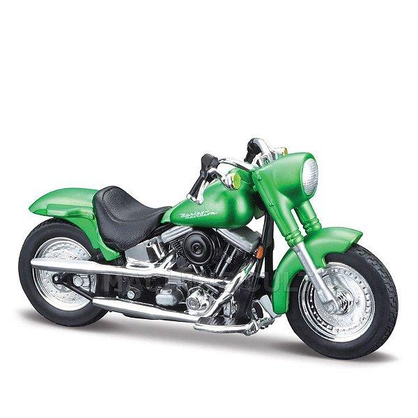 Miniatura Harley-Davidson 2000 FLSTF Street Stalker - Maisto 1:18