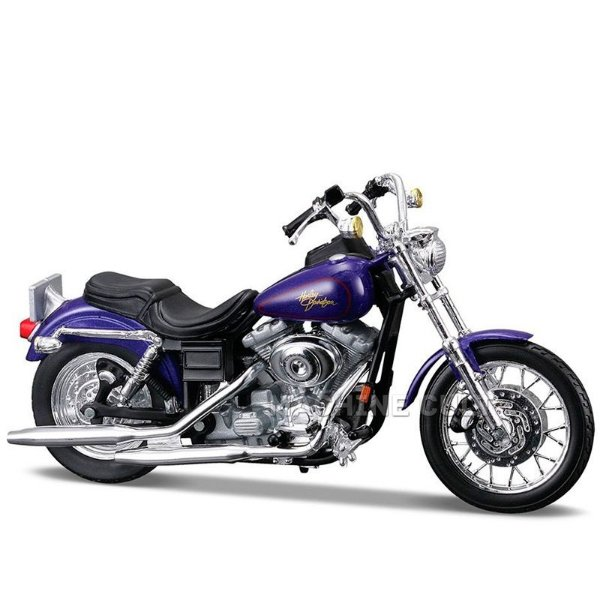 Miniatura Moto Harley-Davidson 2000 FXDL Dyna Low Rider Maisto 1:18