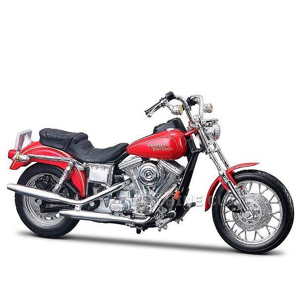 Miniatura Moto Harley-Davidson 1997 FXDL Dyna Low Rider Maisto 1:18