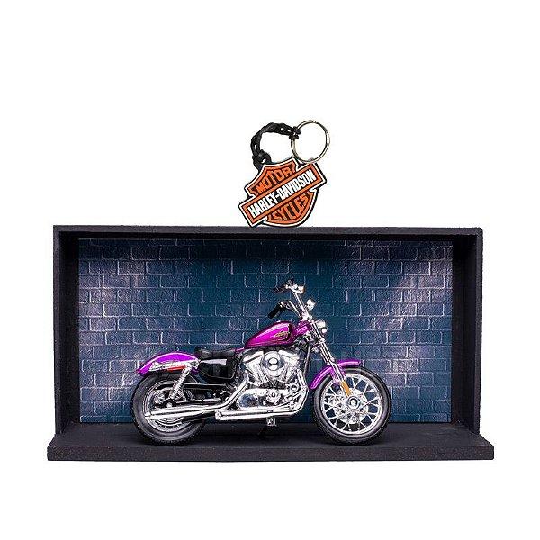 Miniatura Harley-Davidson 2013 XL 1200V Seventy-Two Maisto 1:18