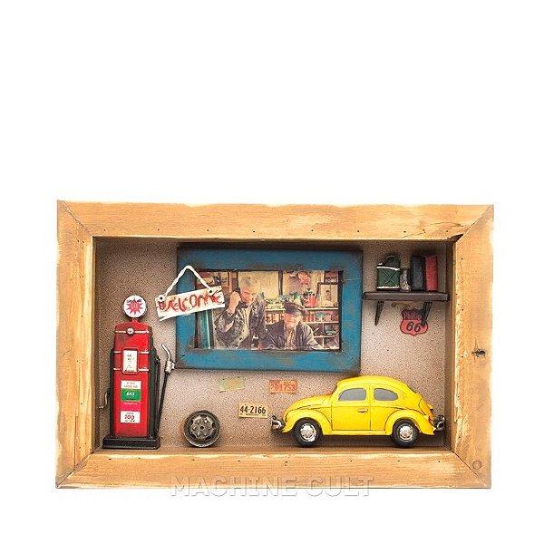 Quadro Diorama de Carro