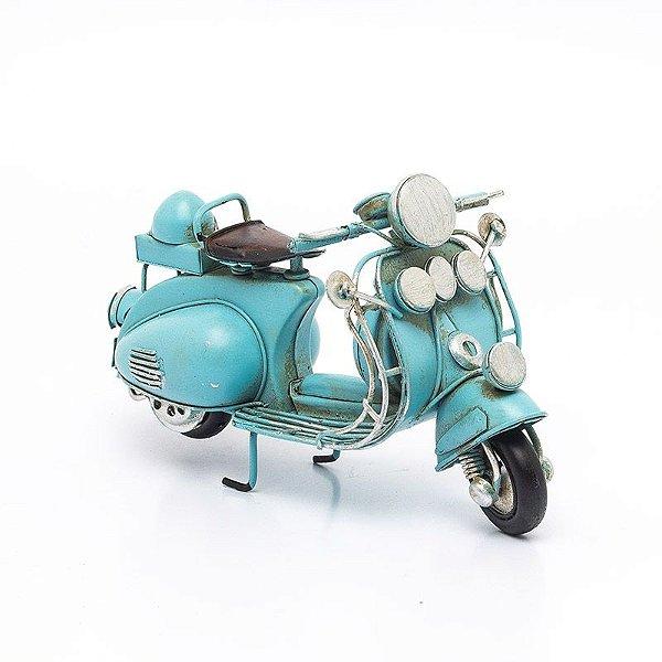 Miniatura Lambreta Vintage Azul