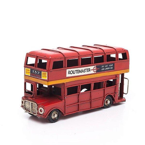 Miniatura Ônibus Londres