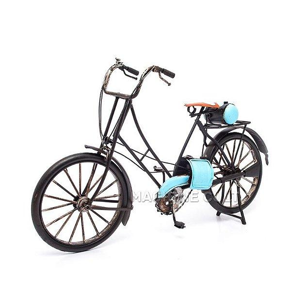 Miniatura Bicicleta Retrô