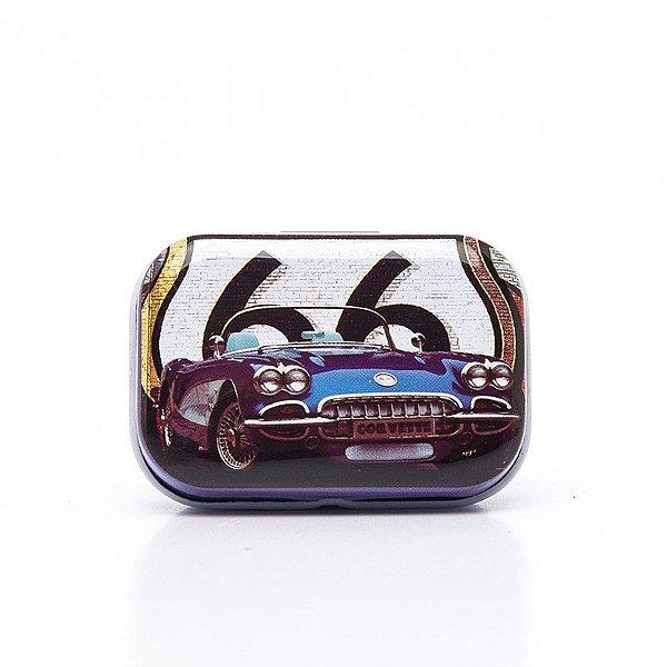 Lata Decorativa Carro Rota 66