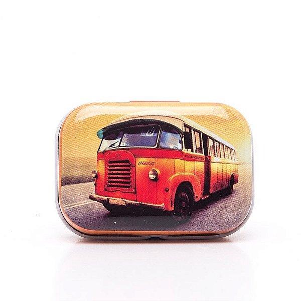 Lata Decorativa Ônibus Coca-Cola