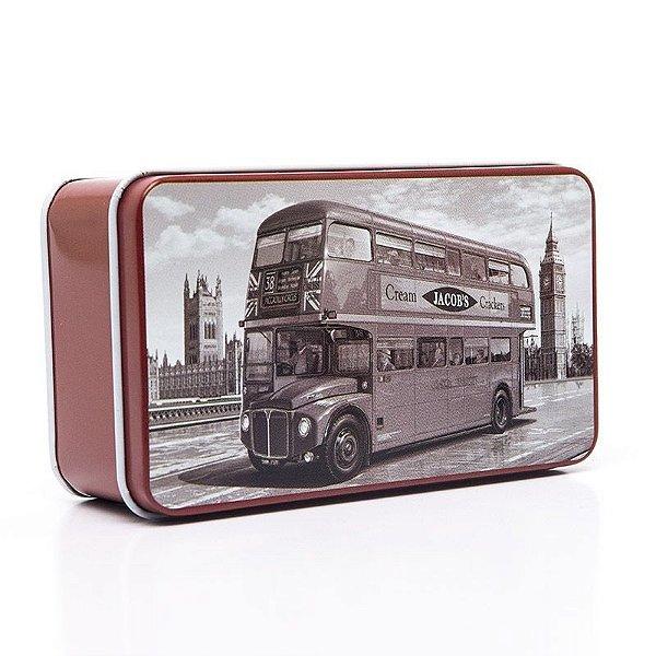 Lata Decorativa Ônibus Londres