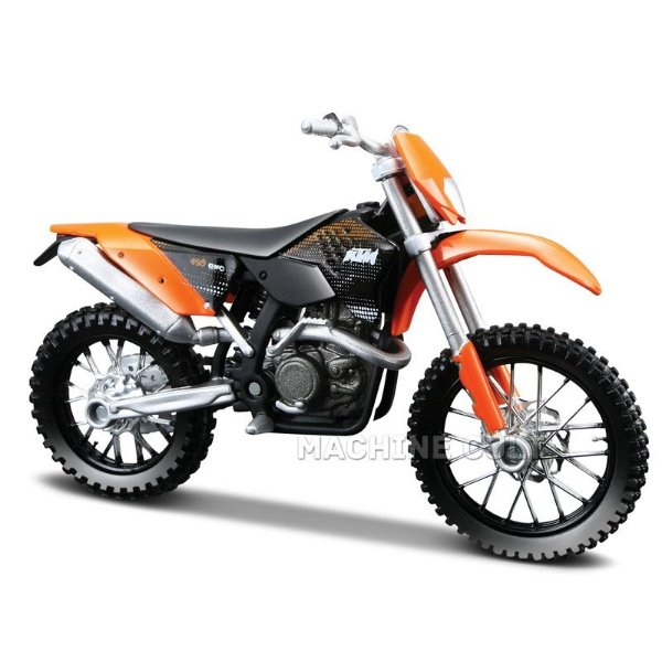 Miniatura Moto KTM 450 EXC 1:18