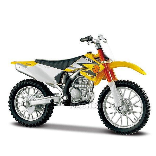 Miniatura Moto Suzuki RM Z250 1:18