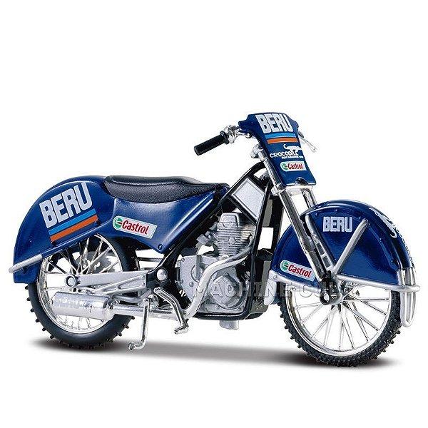 Miniatura Moto EIS Ice Speedway SIWA 500 - 1:18 Maisto