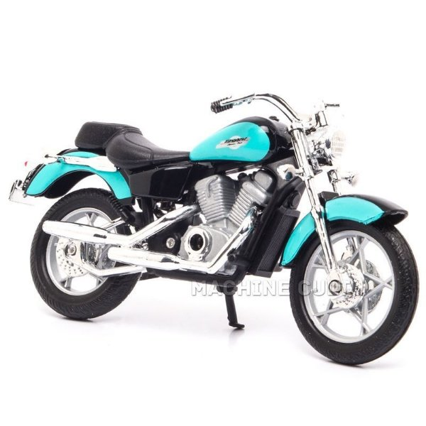 Miniatura Moto Honda Shadow VT 1100C - 1:18 Welly