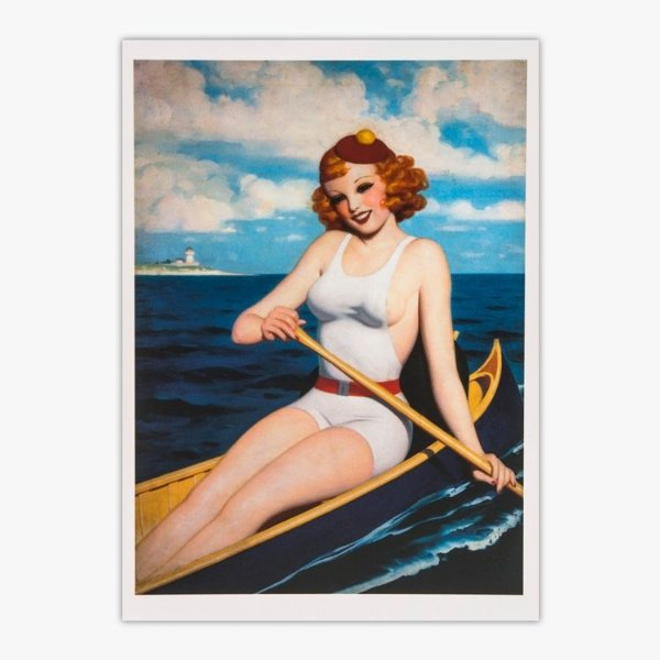 Cartão Postal Pin-Up - 1936 - Enoch Bolles