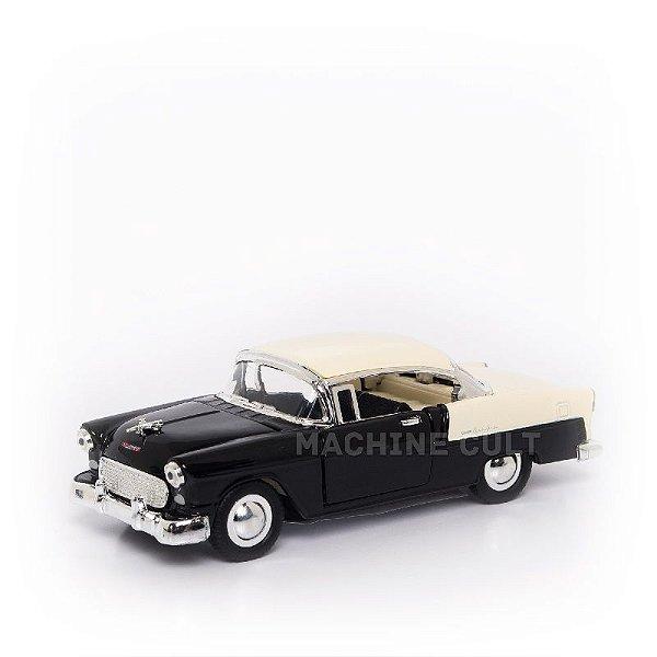 Miniatura Chevrolet Bel Air 1955 - Preto - 1:40
