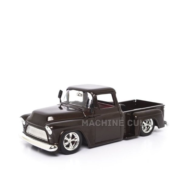 Miniatura Chevy Stepside 1955 - Marrom - Jada 1:24