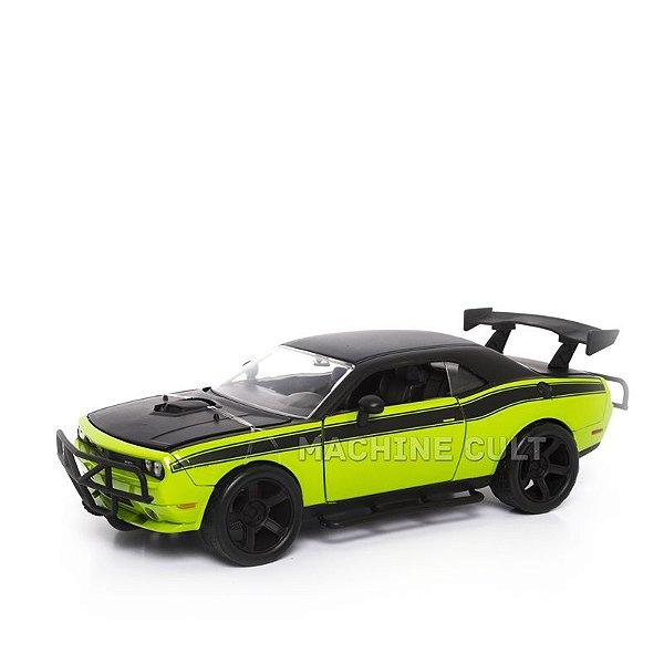 Miniatura Dodge Challenger SRT8 - Velozes e Furiosos 7 - Jada 1:24