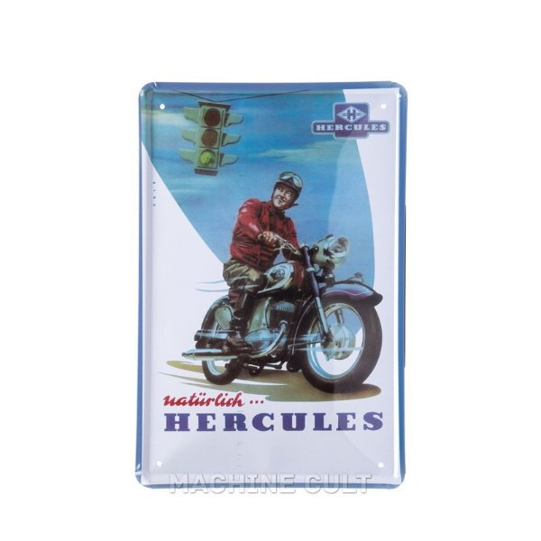 Placa Decorativa Hercules Motors