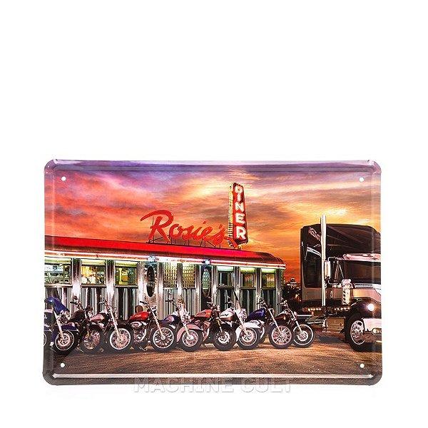 Placa Decorativa Motocicletas