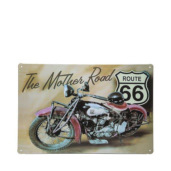 Placa Route 66
