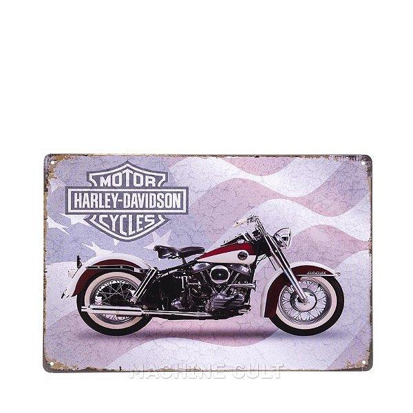 Placa Harley para Decoração