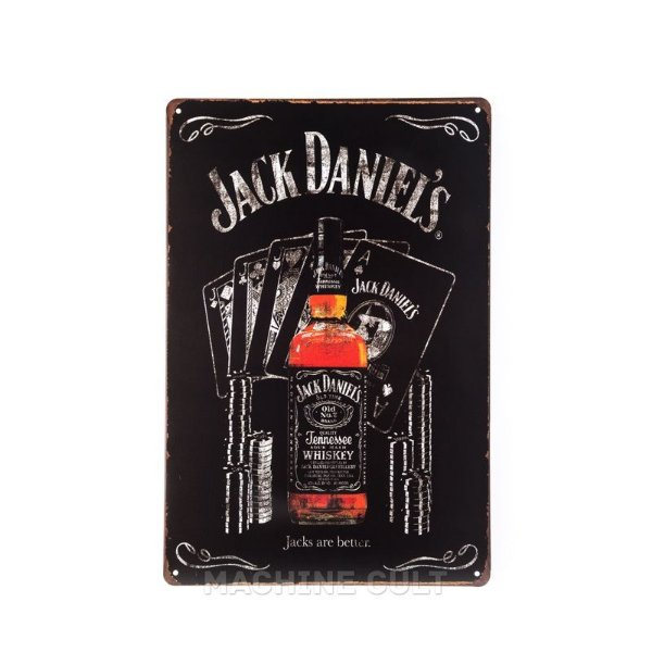 Placa Decorativa Jack Daniel's