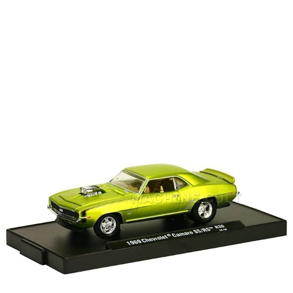 Miniatura 1969 Chevrolet Camaro SS/RS - M2 Machines 1:64