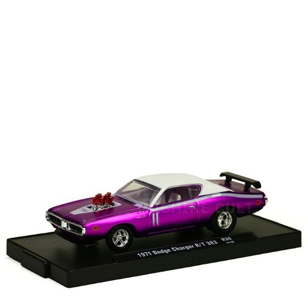 Miniatura Dodge Charger R/T 383 1971 - M2 Machines 1:64
