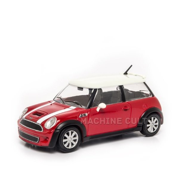 Mini Cooper S Vermelho - Burago 1:24