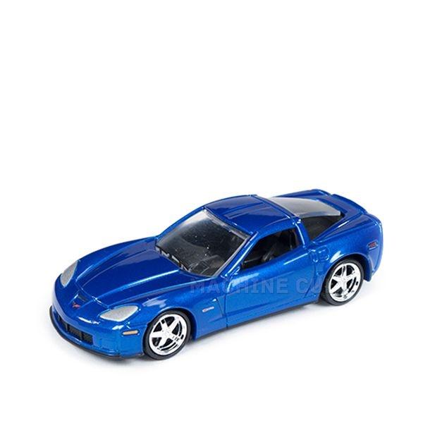 2012 Chevy Corvette Z06 Azul - Auto World 1:64