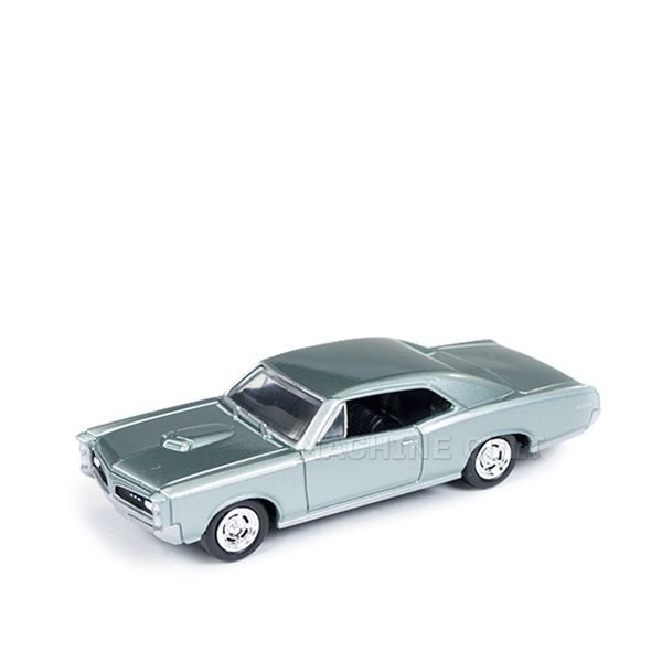 1966 Pontiac GTO Cinza - Auto World 1:64