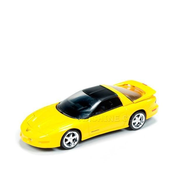 1993 Pontiac Firebird T/A Amarelo - Auto World 1:64