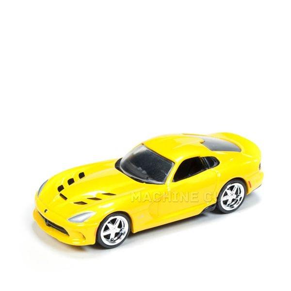 2014 Dodge Viper SRT Amarelo - Auto World 1:64