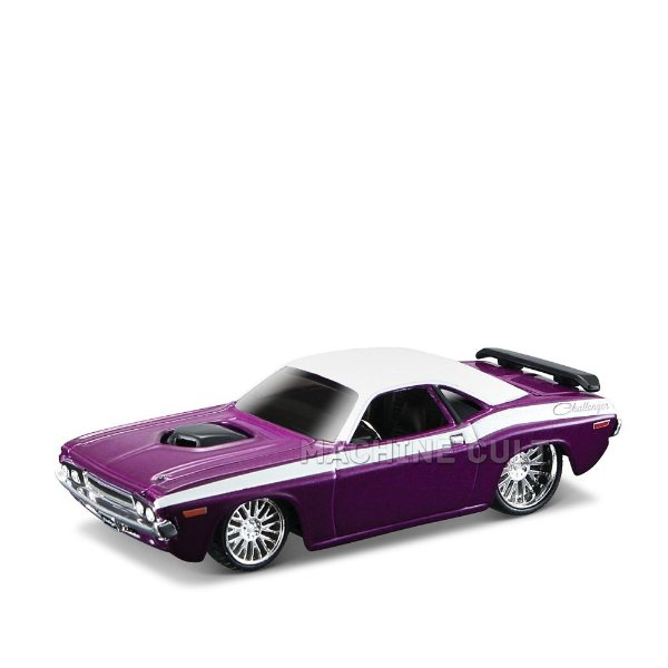 1970 Dodge Challenger RT - All Stars Maisto 1:64