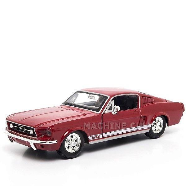 Miniatura 1967 Ford Mustang GT Bord̫ - Maisto - 1:24
