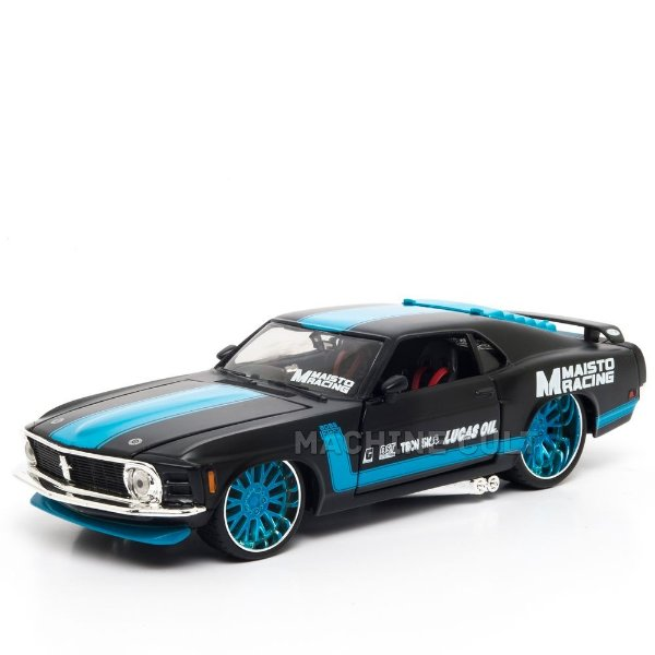 Miniatura 1970 Ford Mustang Boss 302 - All Stars Maisto 1:24