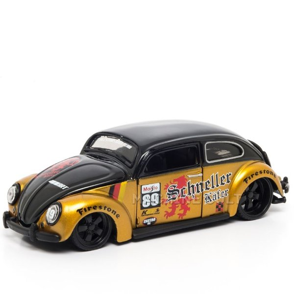 Miniatura Fusca Customizado - All Stars Maisto 1:24
