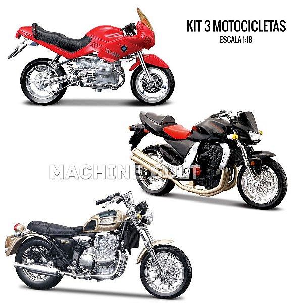 Kit de Miniaturas de Moto Esportiva - Box 5