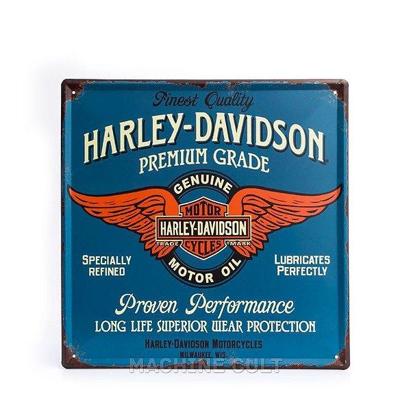 Placa Harley-Davidson - Genuine Services