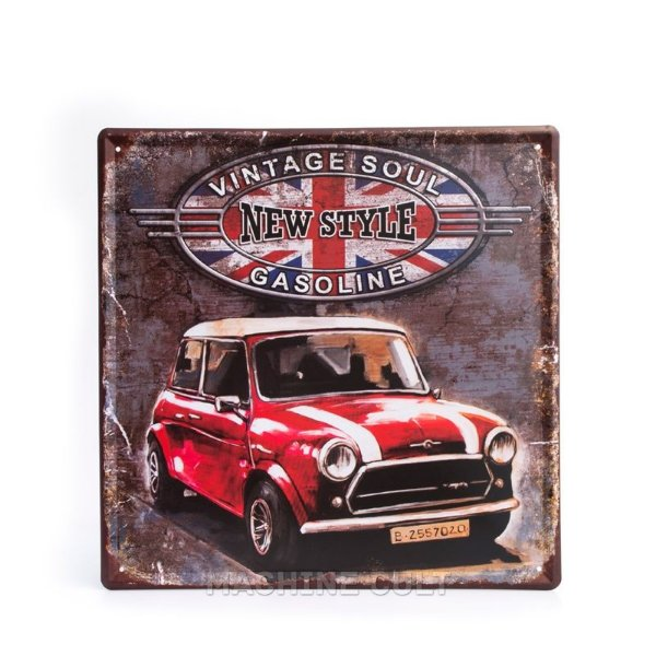 Placa Decorativa Mini Cooper