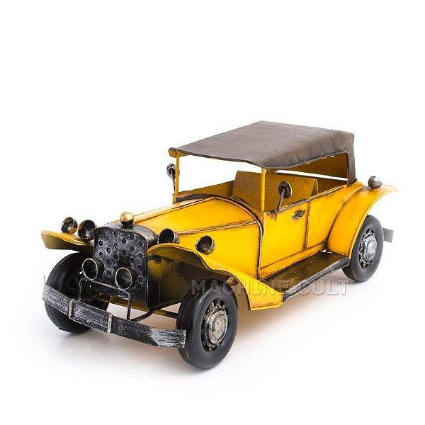 Miniatura Packard Amarelo com Capota